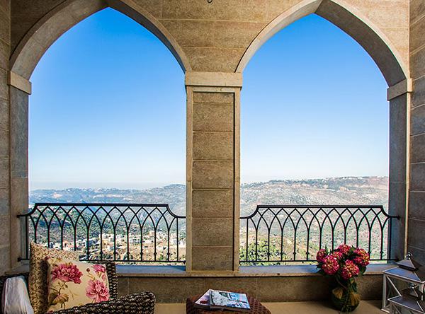 Aesthetic Balcony View